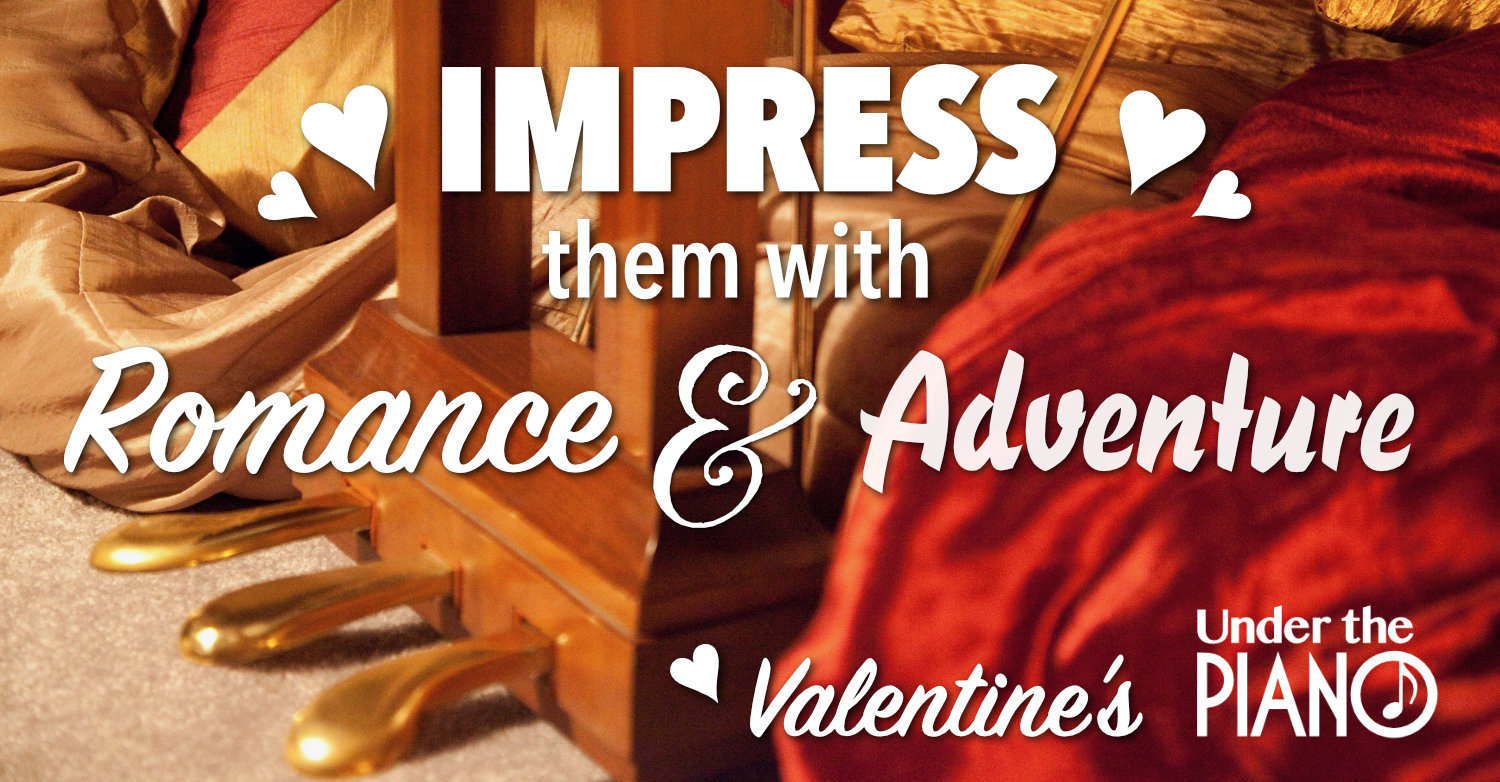 Impress them with romance and adventure on Valentine's Day